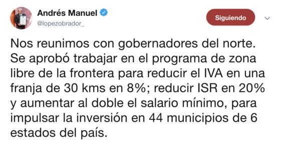 amlo bajara iva isr en norte de mexico 2