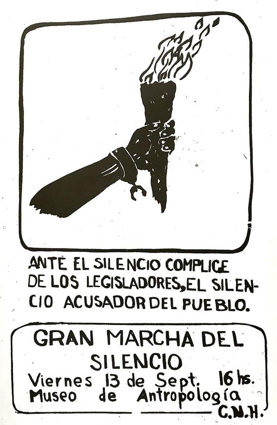 que es la marcha del silencio 1