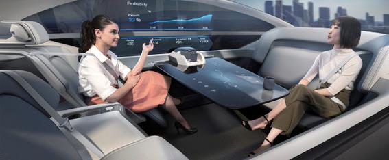 volvo 360c coche electrico del futuro que se hara cama 2