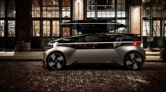 volvo 360c coche electrico del futuro que se hara cama 3