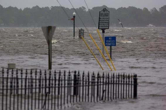 Un video te muestra las terribles consecuencias del huracán Florence que ya llegó a Estados Unidos
