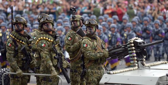 desfile militar del 16 de septiembre 1