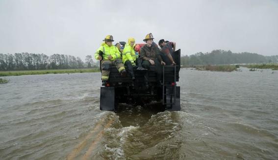 eua bajo amenaza de inundaciones por florence 2