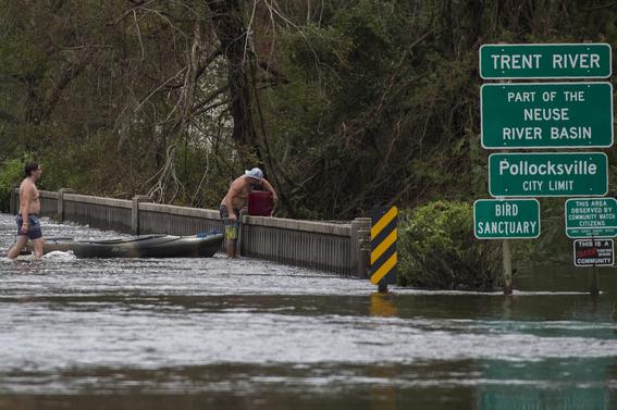 eua bajo amenaza de inundaciones por florence 5