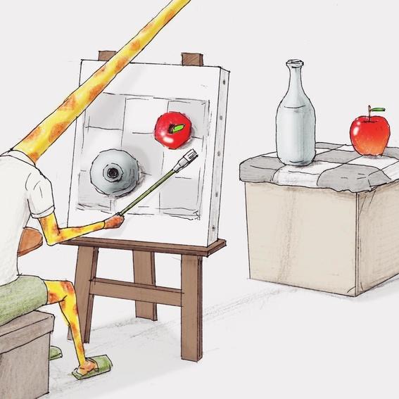 ilustraciones absurdas de keigo 6