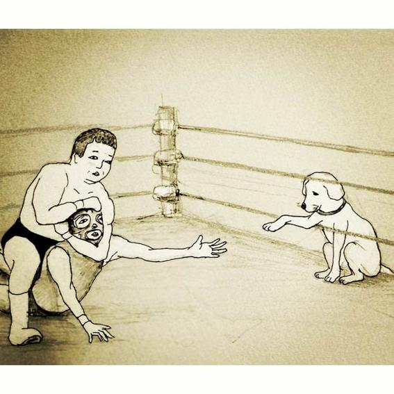 ilustraciones absurdas de keigo 12