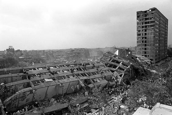 lugares que se derrumbaron en el temblor del 85 y no conociste 6