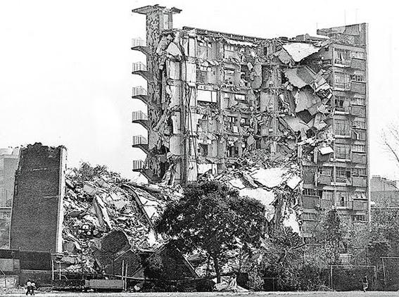 lugares que se derrumbaron en el temblor del 85 y no conociste 10