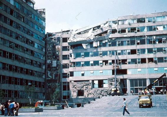 lugares que se derrumbaron en el temblor del 85 y no conociste 12