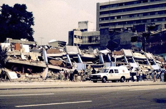 lugares que se derrumbaron en el temblor del 85 y no conociste 15