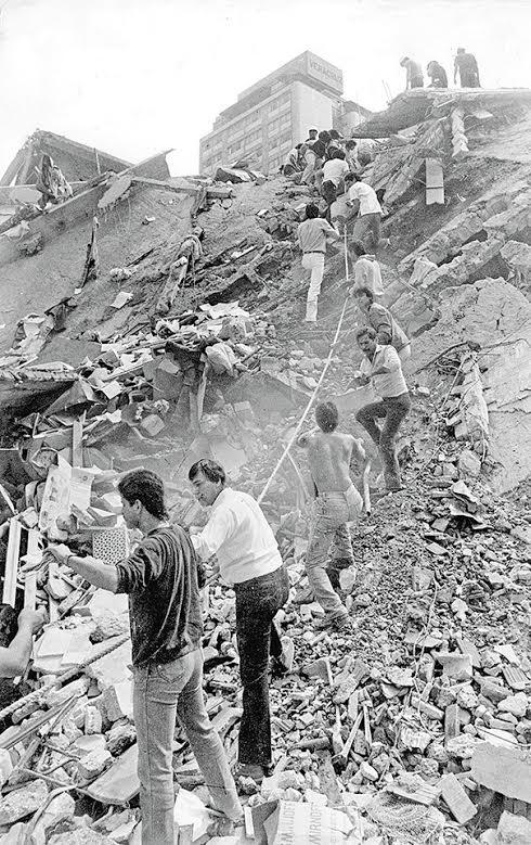 lugares que se derrumbaron en el temblor del 85 y no conociste 7