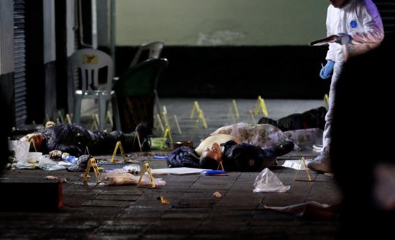 6 muertos por tiroteo en garibaldi 1