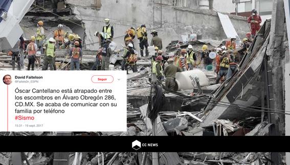sismo del 19 de septiembre mensajes y derrumbe alvaro obregon oscar cantellano 1