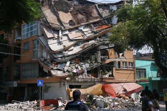 que hacer con los escombros tras un sismo 1