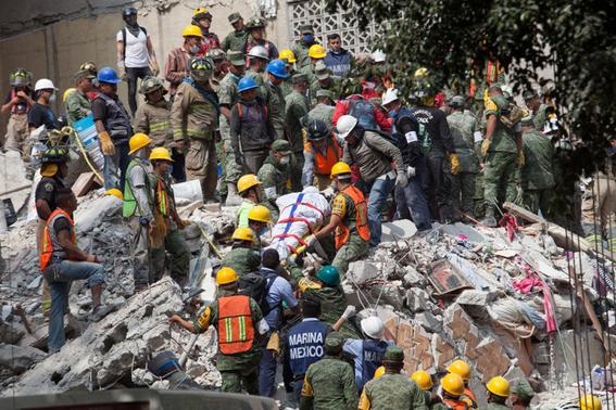 que hacer con los escombros tras un sismo 2
