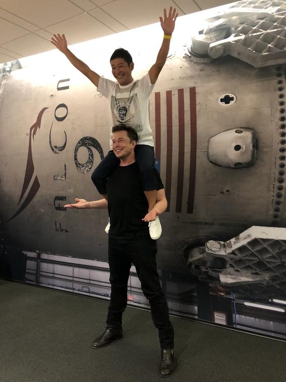 spacex revela al primer turista que viajara a la luna 1