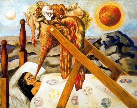 pinturas de frida kahlo y su significado arte. Black Bedroom Furniture Sets. Home Design Ideas