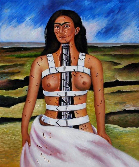 pinturas de frida kahlo 9