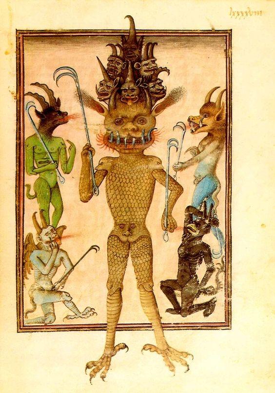 ocumicho devil figure mexican pottery 1