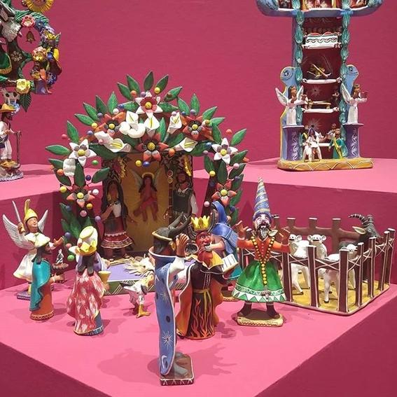 ocumicho devil figure mexican pottery 5