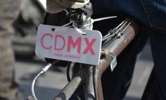 en donde sera la entrega de placas para bicis en la cdmx 2