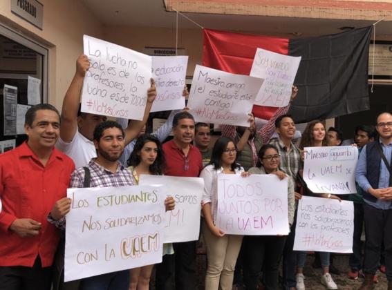 trabajadores uaem van a huelga por falta de pagos 2