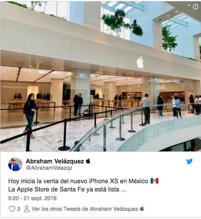 hacen filas enormes en mexico para comprar iphone xs 3