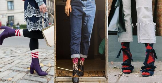 ways to wear statement socks 5