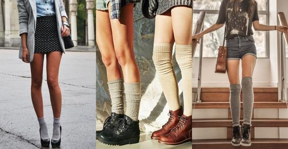 ways to wear statement socks 2