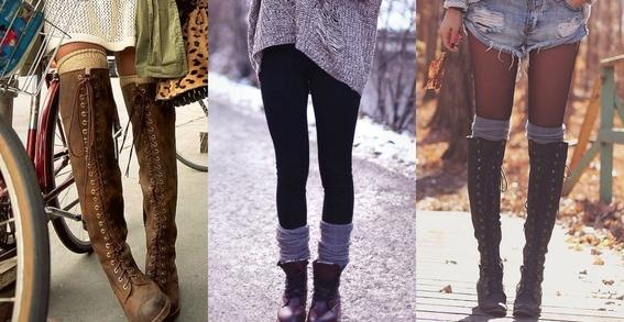 ways to wear statement socks 1