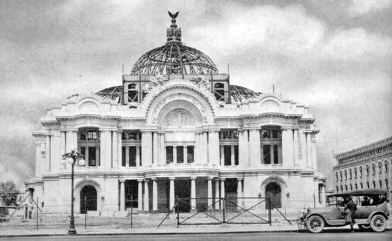 cuando se inauguro el palacio de bellas artes 3