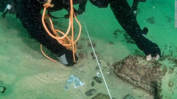 barco hundido encontrado en portugal lisboa 2