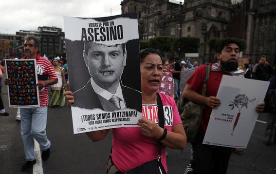cuatro anos de la desaparicion de los 43 de ayotzinapa 2