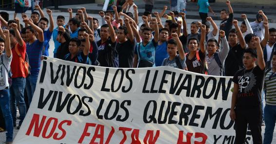 4 anos matanza 43 estudiantes ayotzinapa 1