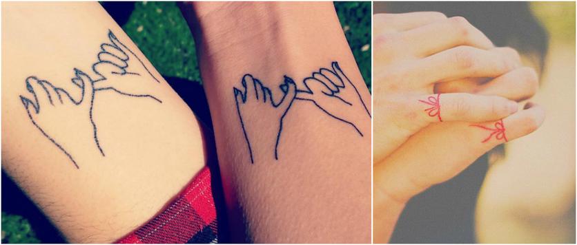 Tatuajes Para Parejas Con Amor Muy Fuerte Diseño Diseño
