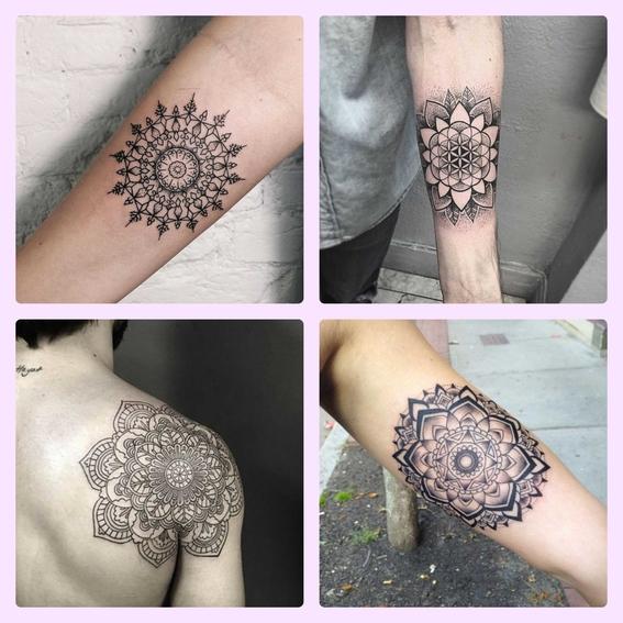 tatuajes de mandalas significado 4