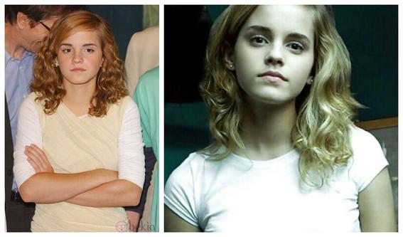 fotos del antes y despues de emma watson y sus cambios 4