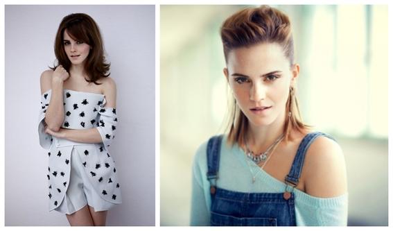 fotos del antes y despues de emma watson y sus cambios 10
