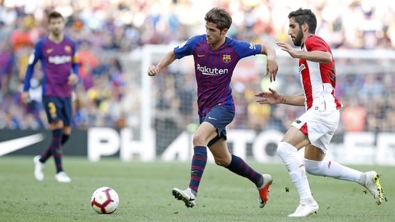 barcelona empata contra el athletic 2