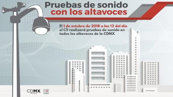 lunes habra pruebas en altavoces de cdmx 1