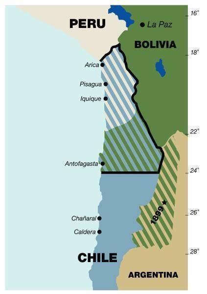 guerra del pacifico chile bolivia acceso al mar 4