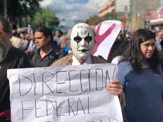 miles de mexicanos marchan 50 anos 2 de octubre 1968 1