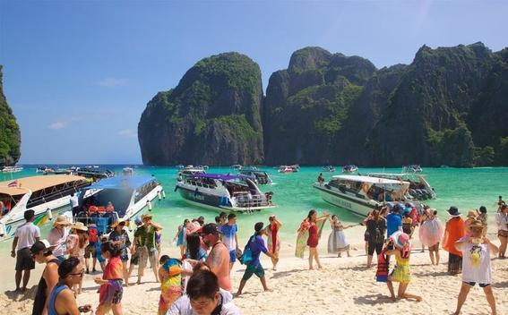 tailandia cierra la bahia de la pelicula la playa 1