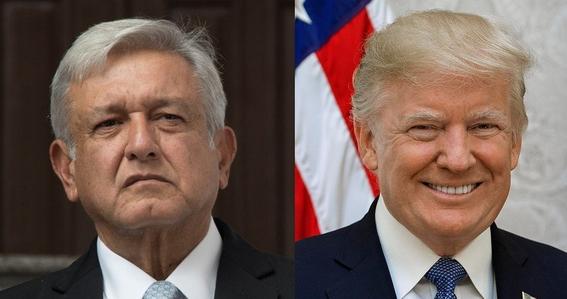 AMLO y yo '¡vamos a trabajar bien juntos!': Trump