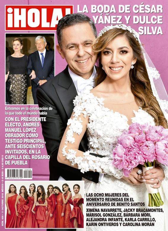 boda fifi de cesar yanez en revista ¡hola 1