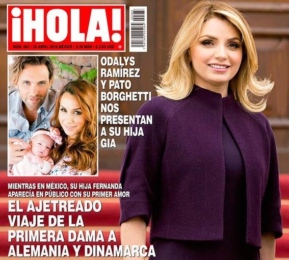 boda fifi de cesar yanez en revista ¡hola 3