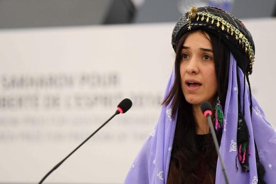 nadia muran esclava sexual estado islamico nobel de paz 2