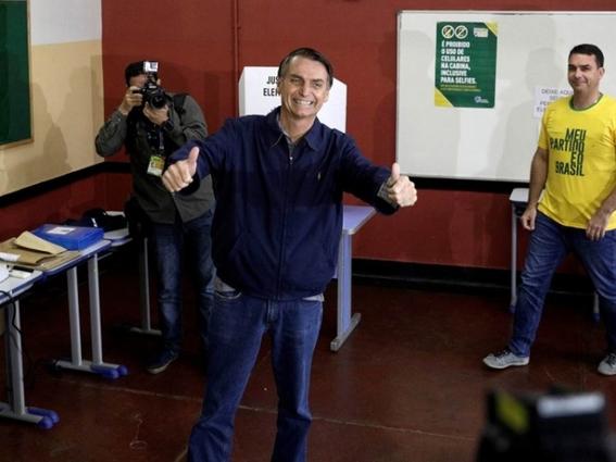 jair bolsonaro va a segunda vuelta en elecciones de brasil 2