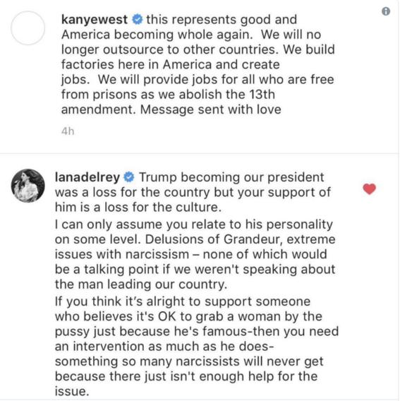 kanye west cierra sus redes por criticas a su apoyo a trump 3