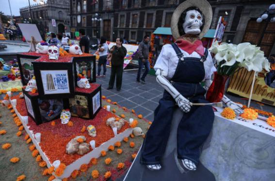 la ruta y horario del desfile de dia de muertos en la cdmx 5